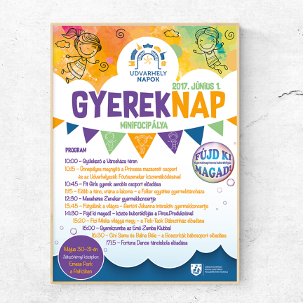 Gyereknap plakát