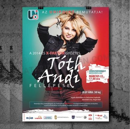 tóth Andi plakát