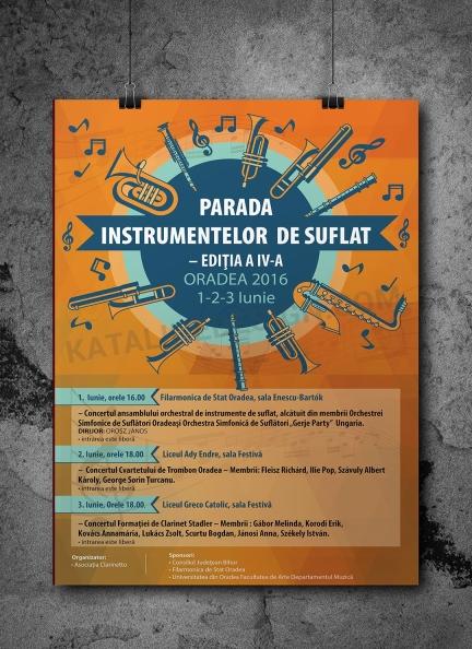 Plakát, Koncert