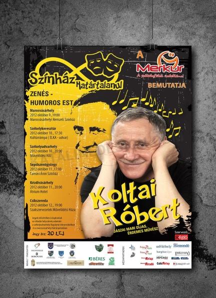 Plakát, Koltai Róbert