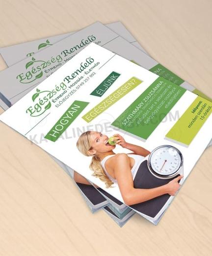 Brochure, Egészség rendelő